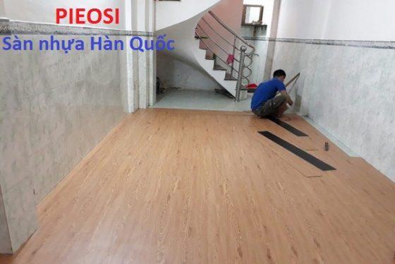 thi công sàn nhựa hèm khóa Hà Nội, báo giá thi công sàn nhựa giá rẻ