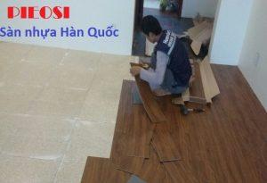 Hướng dẫn thi công sàn nhựa dán keo  – Tư vấn thi công sàn nhựa