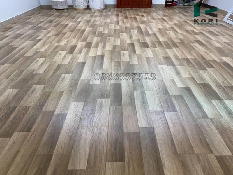 Mẫu sàn nhựa pvc vân gỗ cao cấp giá rẻ